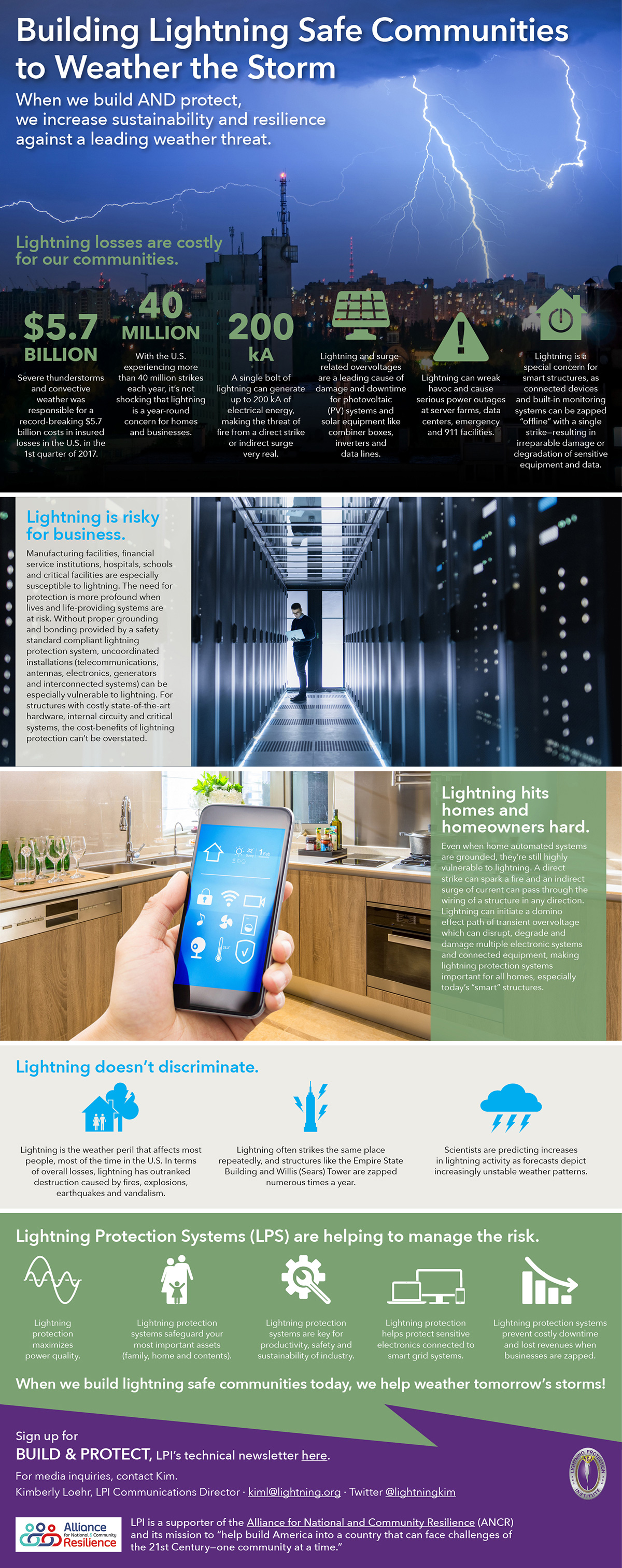 News Lightning Protection Institute Page 2 Wiring Products Help Ensure That Your Home Will Be Ready For The How Systems Can Improve Sustainability Increase Resilience Against A Leading Weather Threat